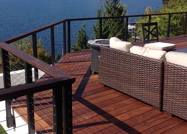 Cable railing designs
