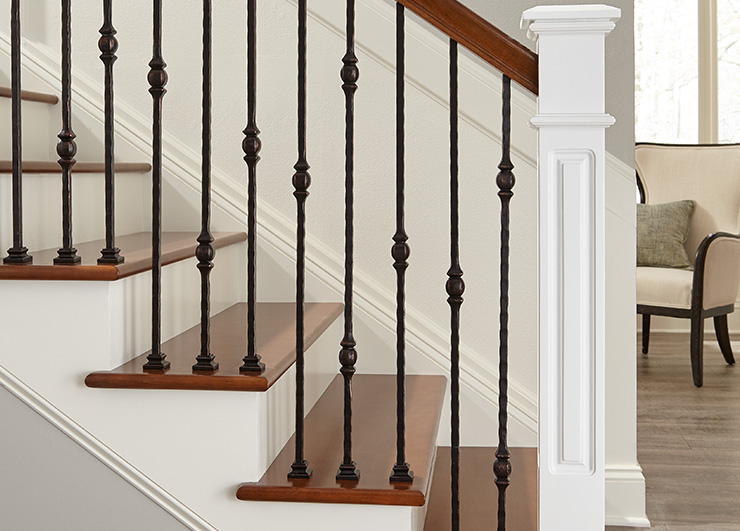 Iron Balusters from the Florence Collection