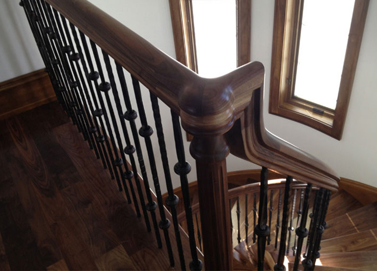 Iron Balusters from the Marsala Collection