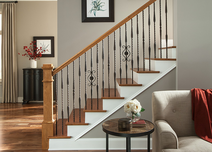 Iron Balusters from the Roma Collection