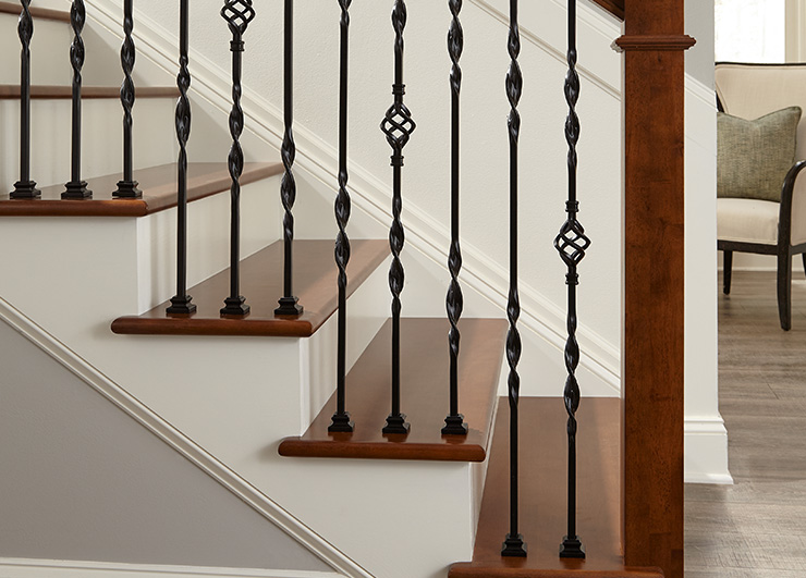 Iron Balusters from the Vicenza Collection