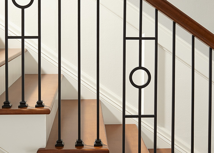 Iron Balusters from the Forma Collection