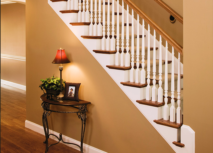 Classic stair parts