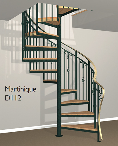 Stair parts with a classic look