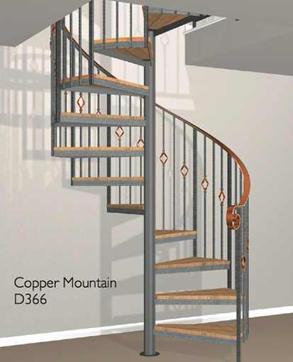 Wood newels and balusters with a classic look